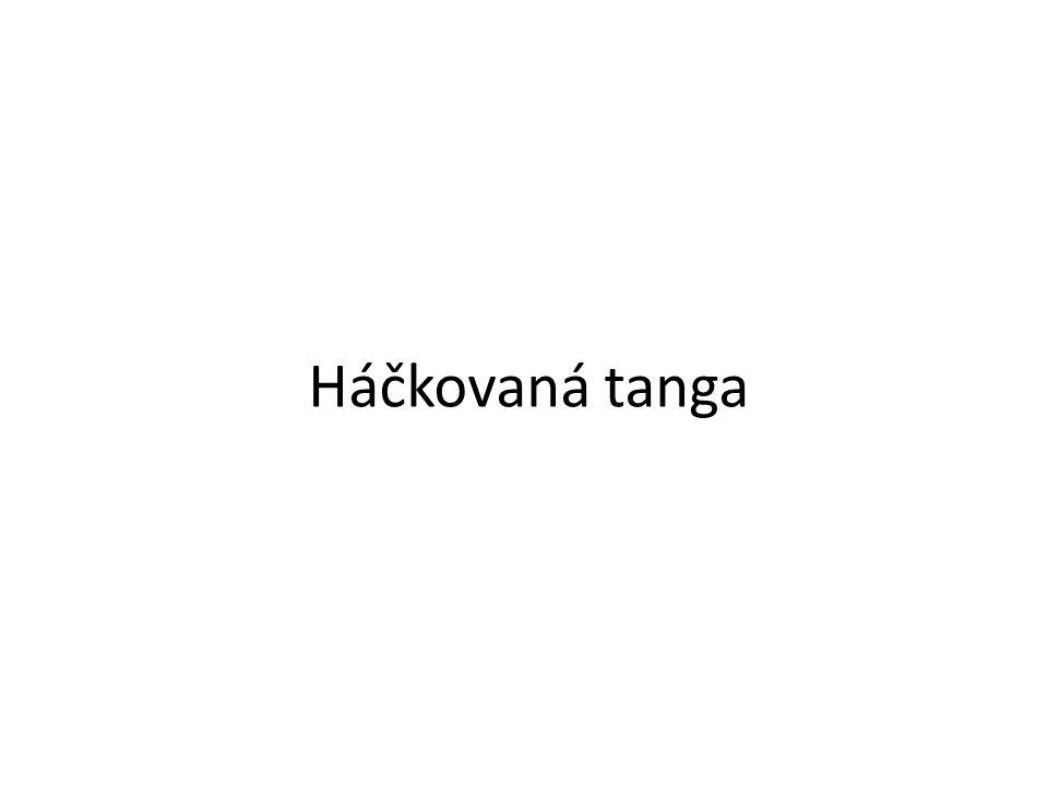 Háčkovaná tanga