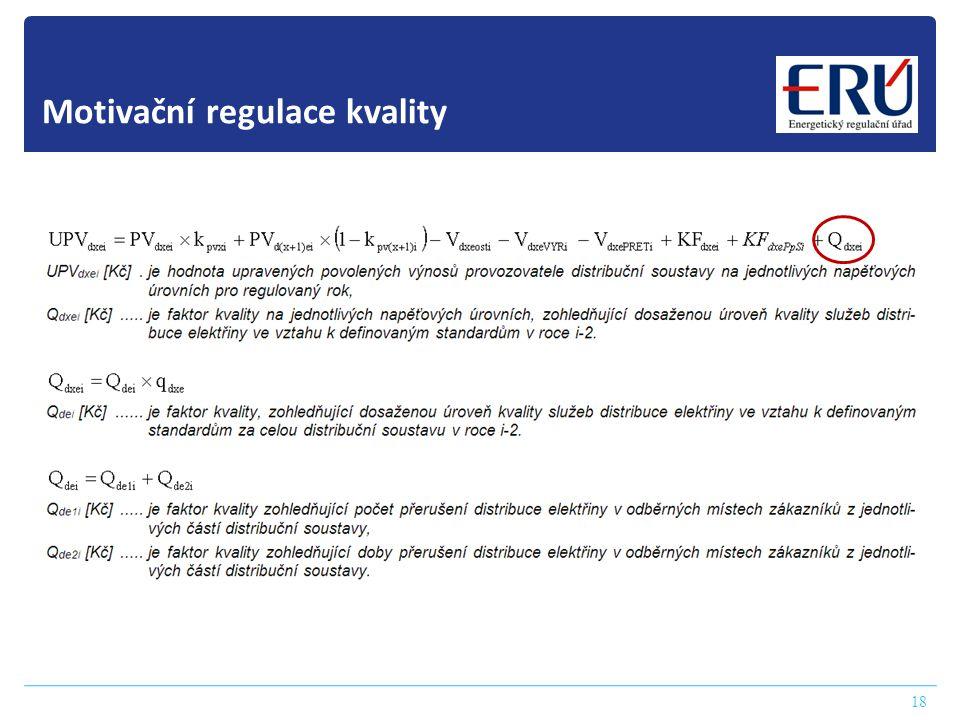 18 Motivační regulace kvality