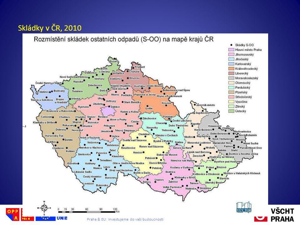 Evropský sociální fond Praha & EU: Investujeme do vaší budoucnosti Skládky v ČR, 2010