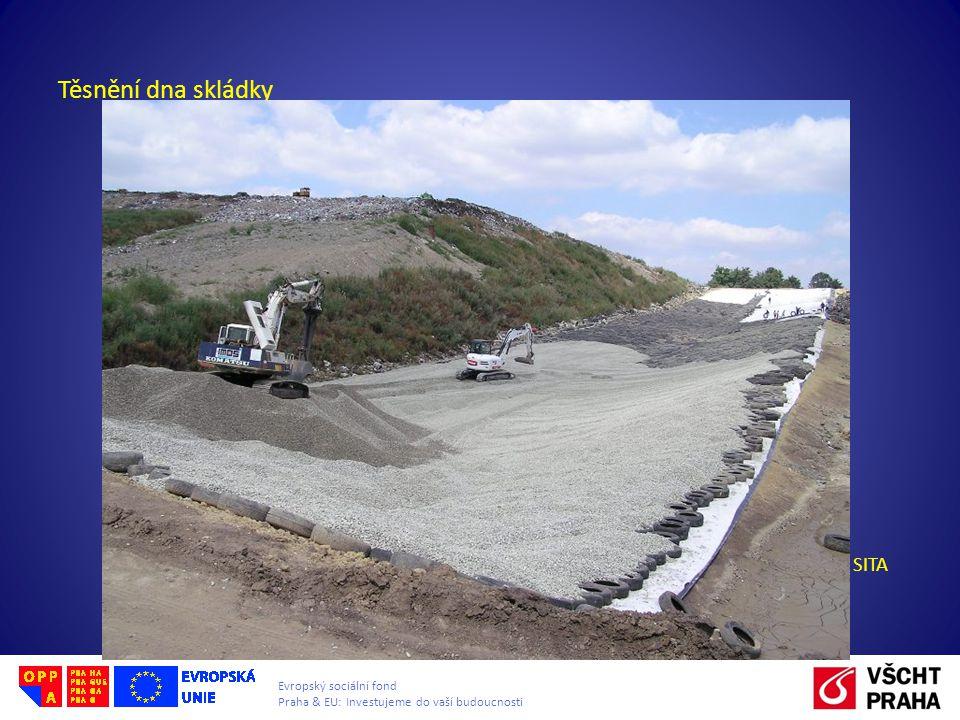Evropský sociální fond Praha & EU: Investujeme do vaší budoucnosti Skládkování odpadů Odplynění skládky: Plynová studna – slouží k odtahu produkovaného bioplynu obr.