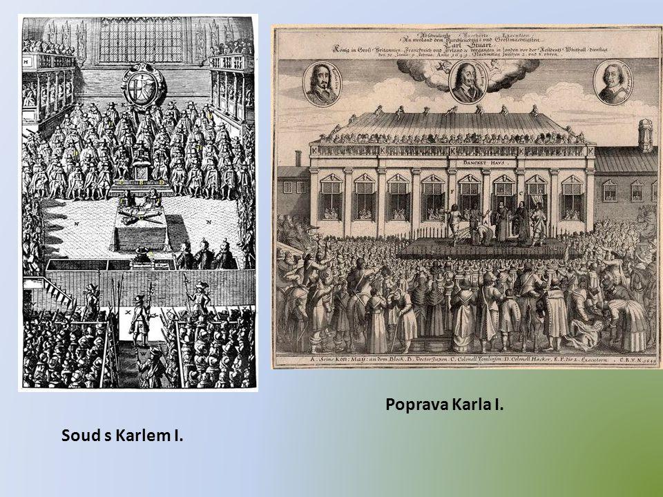 Soud s Karlem I. Poprava Karla I.