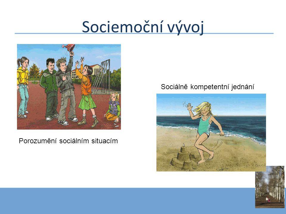 Porozumění sociálním situacím Sociálně kompetentní jednání
