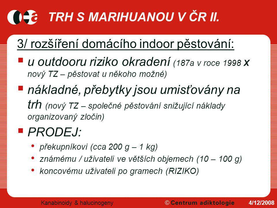 TRH S MARIHUANOU V ČR III.