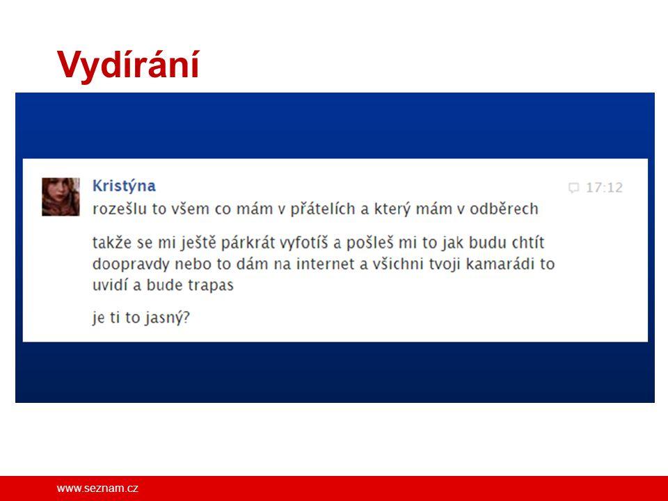 www.seznam.cz Vydírání FB/SeznamSeBezpecne