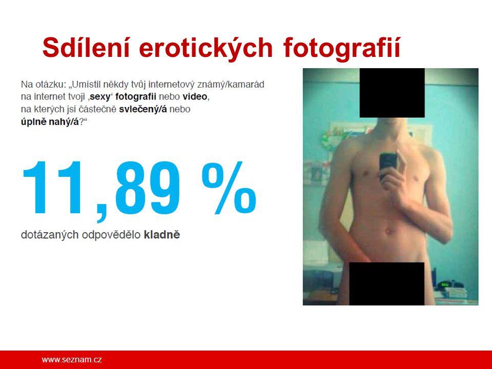 www.seznam.cz Sdílení erotických fotografií FB/SeznamSeBezpecne