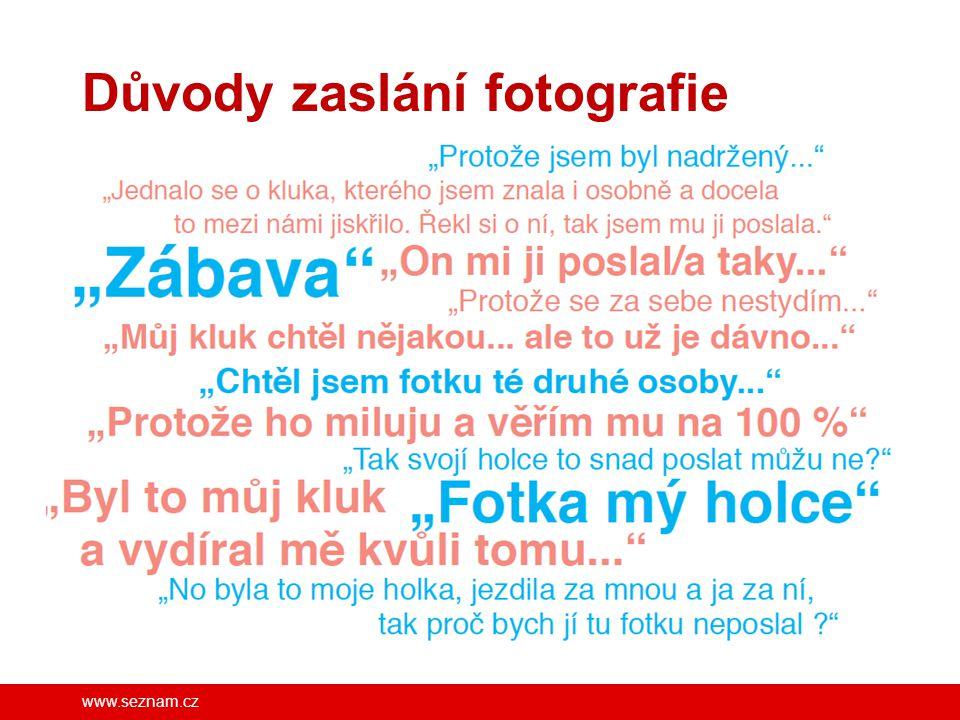 www.seznam.cz Důvody zaslání fotografie FB/SeznamSeBezpecne