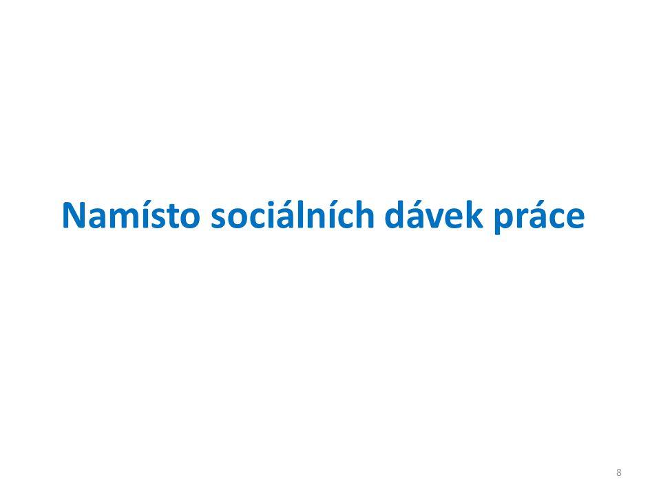 Namísto sociálních dávek práce 8