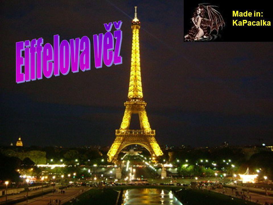 Eiffelova věž se stala symbolem města a je nejznámější a nejnavštěvovanější pařížskou památkou.