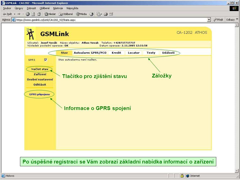 Datum a čas Zdroj události Událost Povel z GSMlinku Povel z registrovaného telefonu Povel z centrálního zamykání