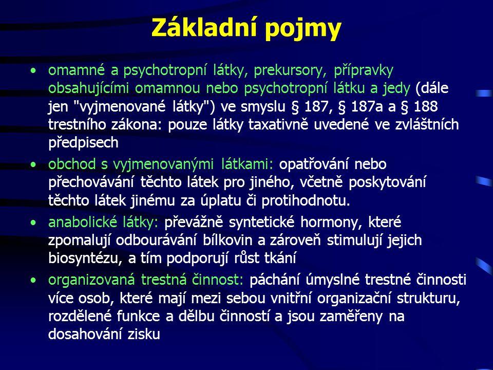 Klasifikace drog dle MKN 10 Návykové a anabolické látky •návykové látky se rozdělují podle typu závislostí v souvislosti s MKN rev.
