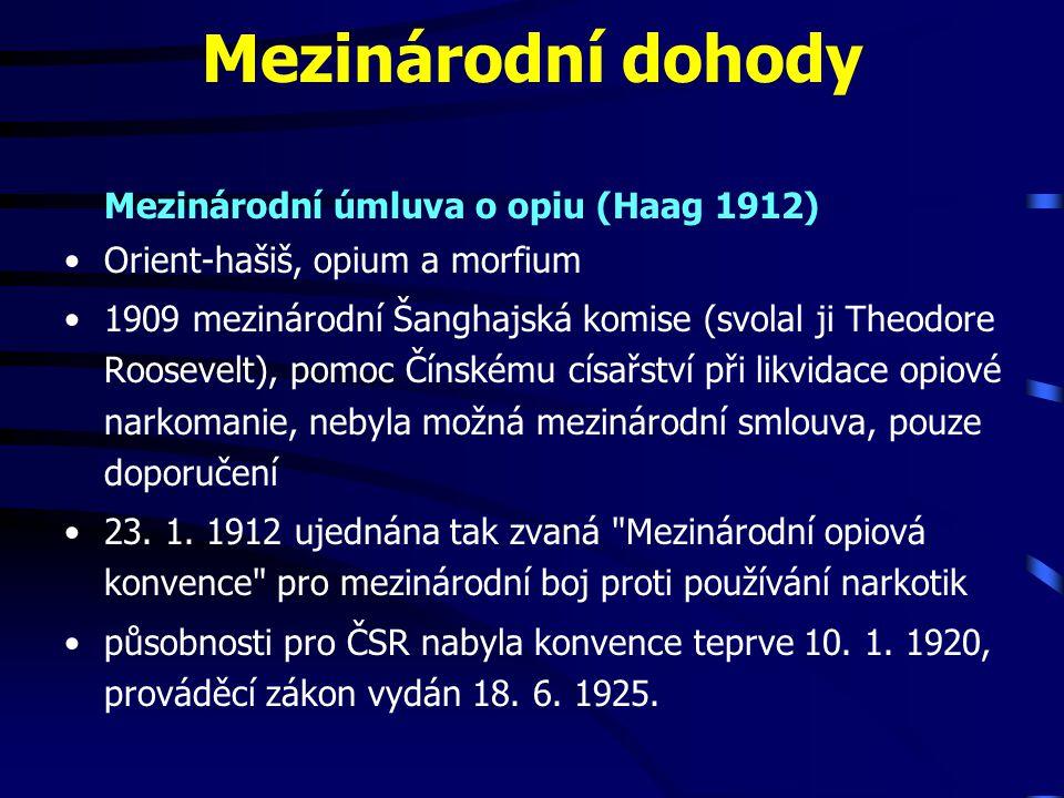 Sazebník pokut za nález drogy s obsahem THC Zpracováno podle pokynu policejního prezidenta 12/99, čl.
