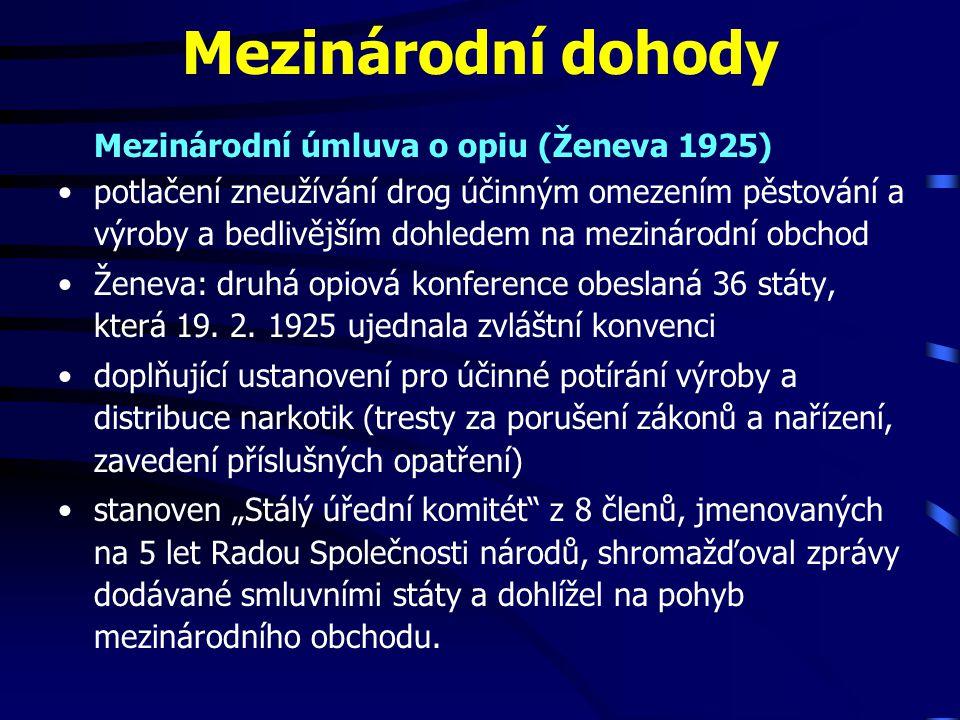 Přehled represivních opatření za držení drog Zpracováno podle www.biotox.cz