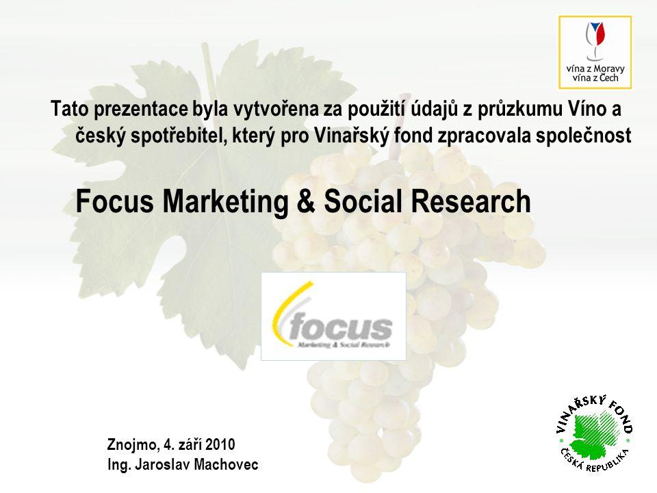 VZTAH ČESKÉ POPULACE K VÍNU  Tři pětiny obyvatel ČR ve věku 18 a více let mají k vínu pozitivní vztah (59%).