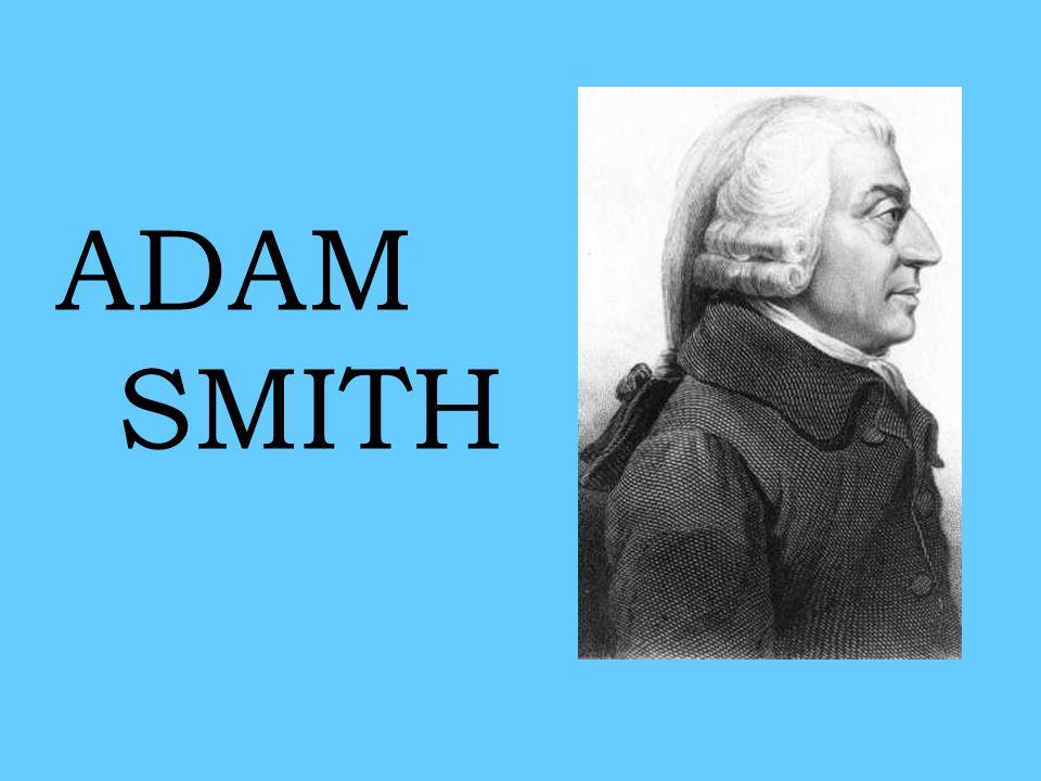 •oficiální počátek samostatné vědy (zvyk…) •obrovská popularita (již za života) •relativně méně vlastní analýzy, více polemiky a hodně syntézy (Hume, fyziokraté apod.) –srovnání s Cantillonem •relativně nezajímavý život… –1723-1790 Adam Smith