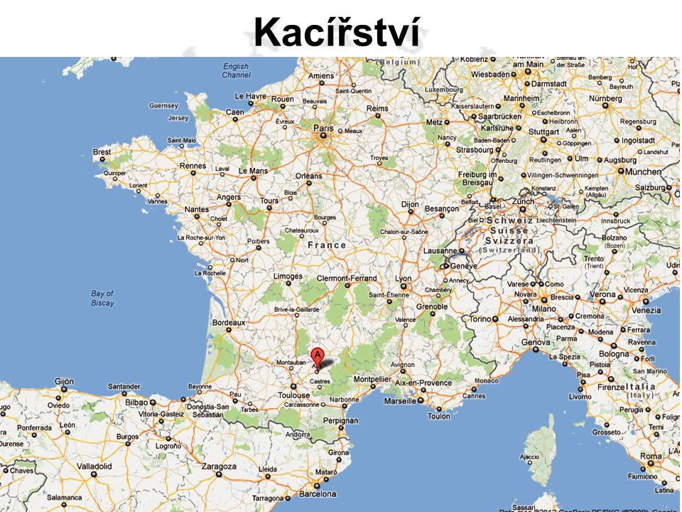 Albigenští – kataři - kacíři – ve Francii kolem města Albi od 12. stol.