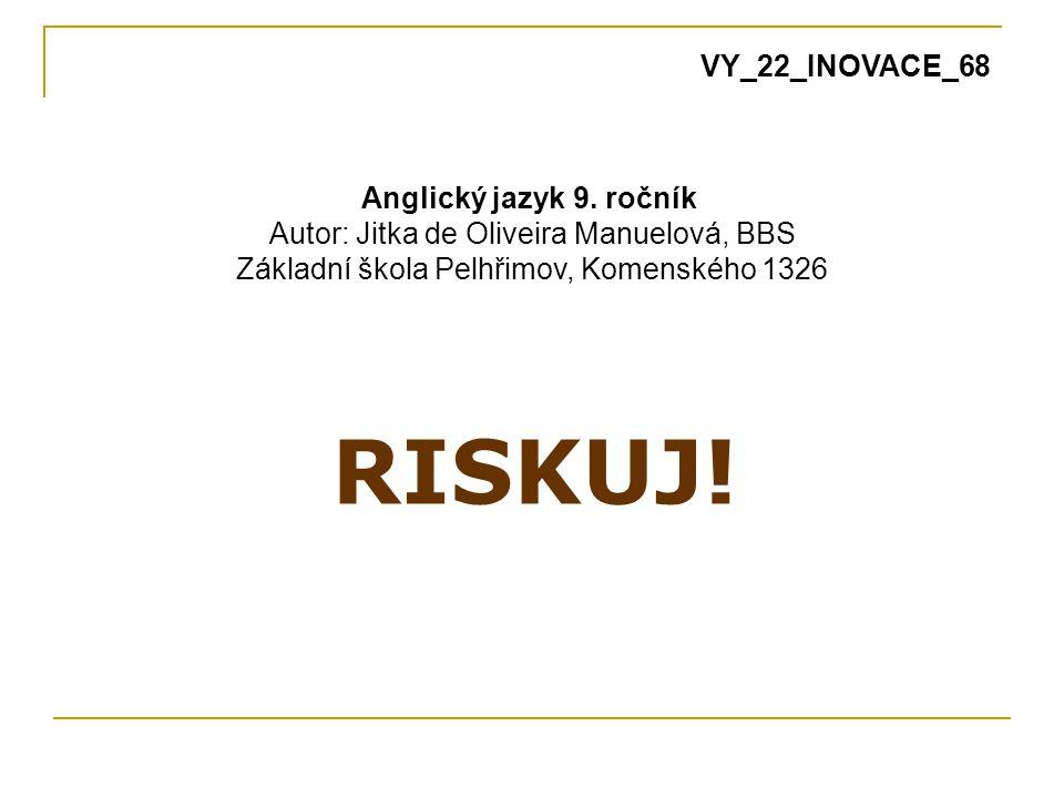 RISKUJ.Anglický jazyk 9.