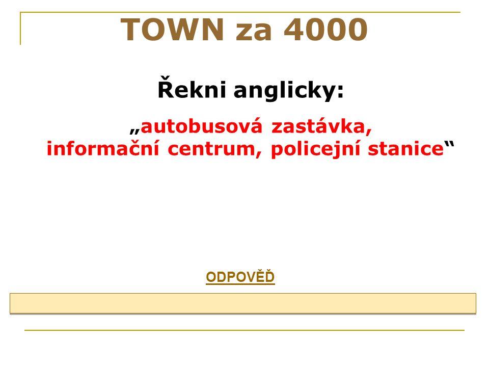 TOWN za 3000 street, road, station