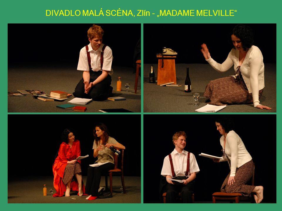 """DIVADLO MALÁ SCÉNA, Zlín - """"MADAME MELVILLE"""