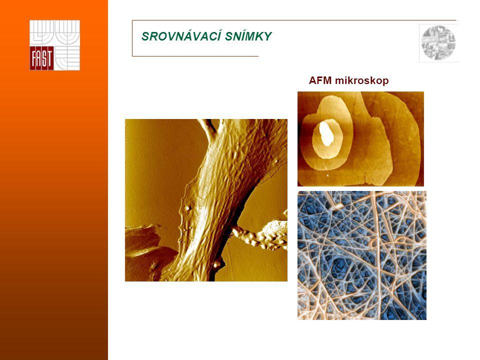 SROVNÁVACÍ SNÍMKY AFM mikroskop