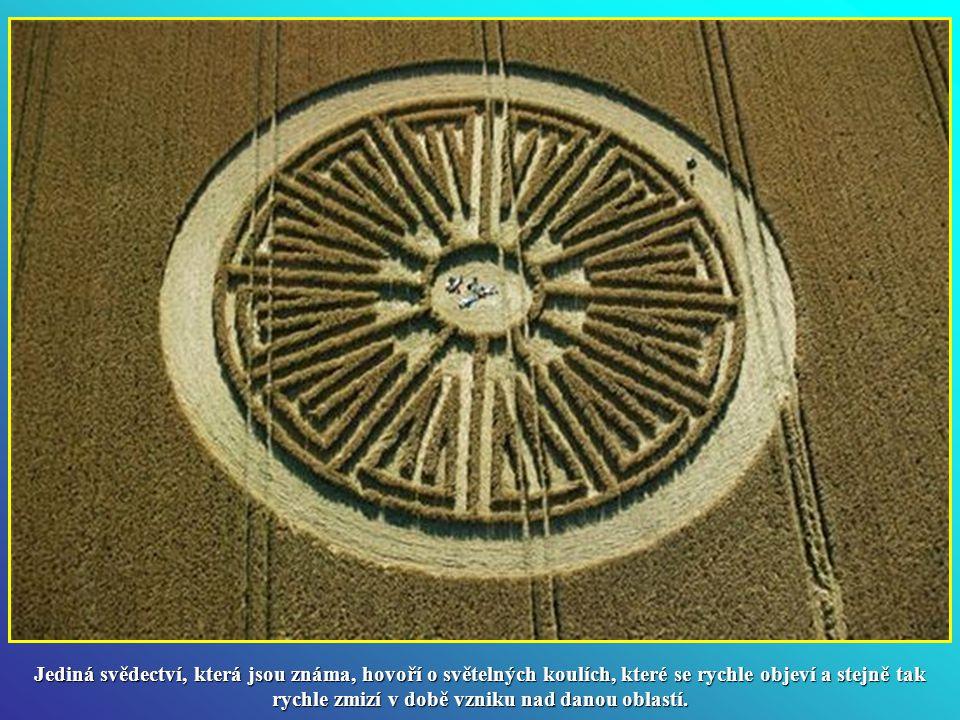 Je to pravda nebo podvod? V září 1991, dva britští umělci, Doug Bower a Dave Chorey přiznali, že kruhy v plodinách jsou dokonalý podvod. Byli schopni