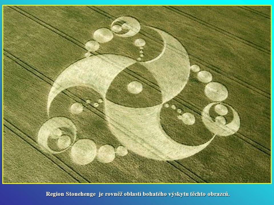 Anglie je zemí, která vyhrává co se týče počtu výskytu obrazců v obilí. Na jihu země a konkrétně v oblasti antického chrámu v Avebury, což je místo s