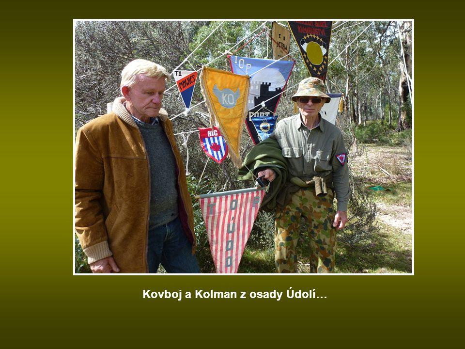 Vlaječky jednotlivých osad…