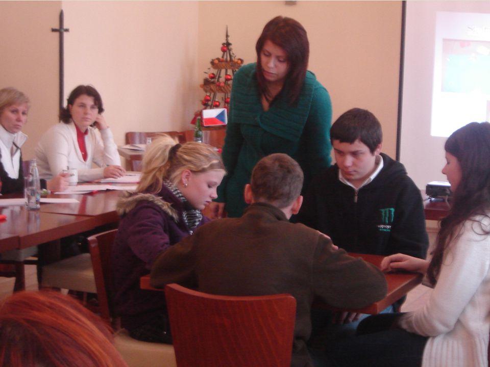 Účastníci se seznámili i s vybudovaným snoezelenem a jeho používáním