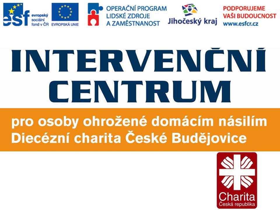 Poslání Intervenčního centra Intervenční centrum pro osoby ohrožené domácím násilím, Diecézní charita České Budějovice, poskytuje radu či pomoc v oblasti domácího násilí a následného pronásledování.