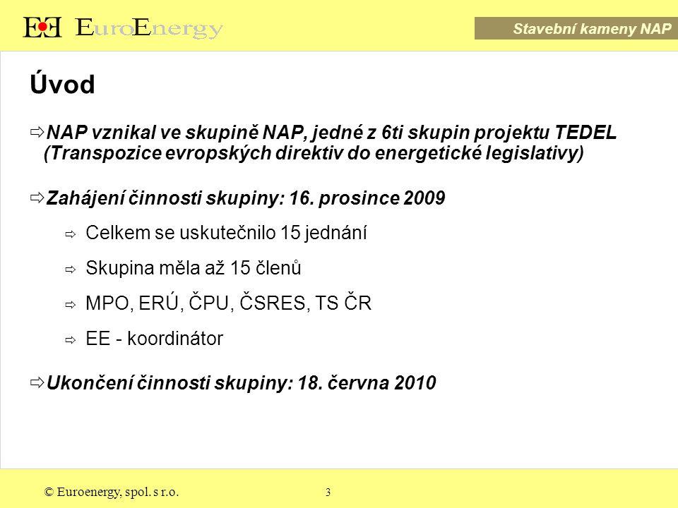 Stavební kameny NAP © Euroenergy, spol. s r.o. 4 Stavební kameny NAP