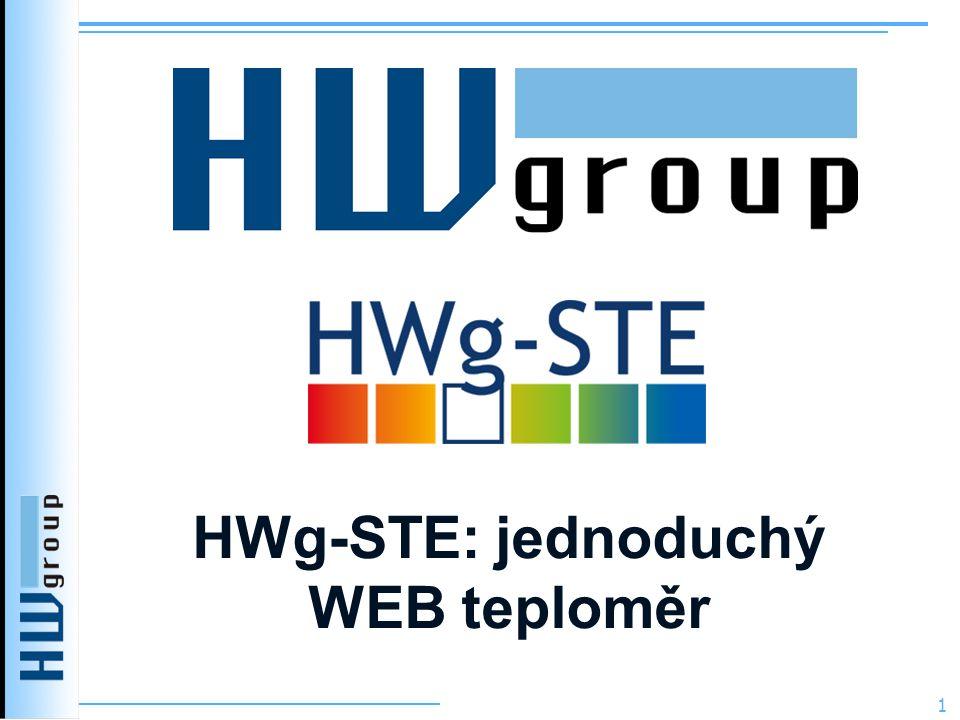 HWg-STE: jednoduchý WEB teploměr 1