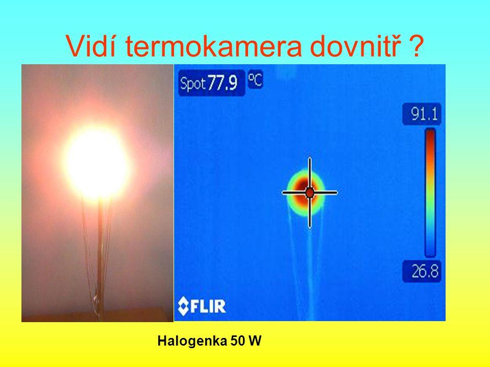 Rozliší termokamera malé odchylky?