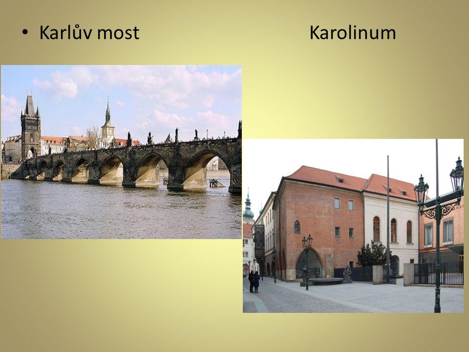 • Karlův most Karolinum