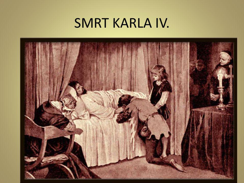 SMRT KARLA IV.