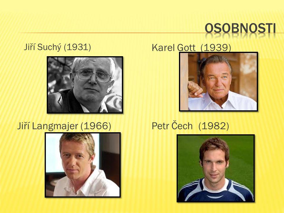 Jiří Suchý (1931) Karel Gott (1939) Jiří Langmajer (1966)Petr Čech (1982)
