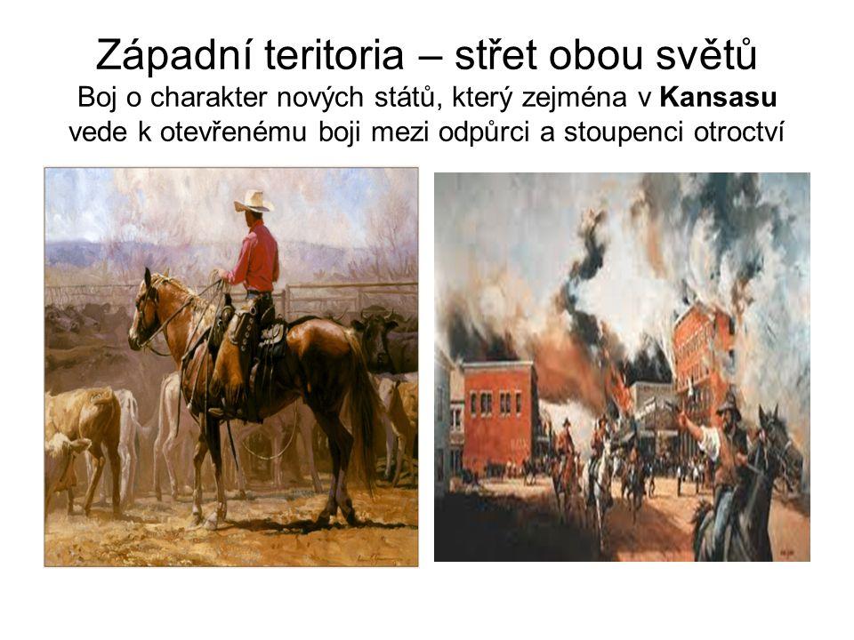 Narůstání rozporů 40.– 50. léta 19.stol.