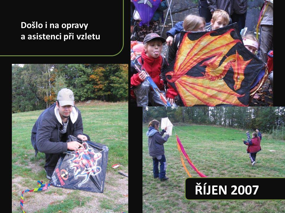 ŘÍJEN 2007 Kristiánov společně se skauty