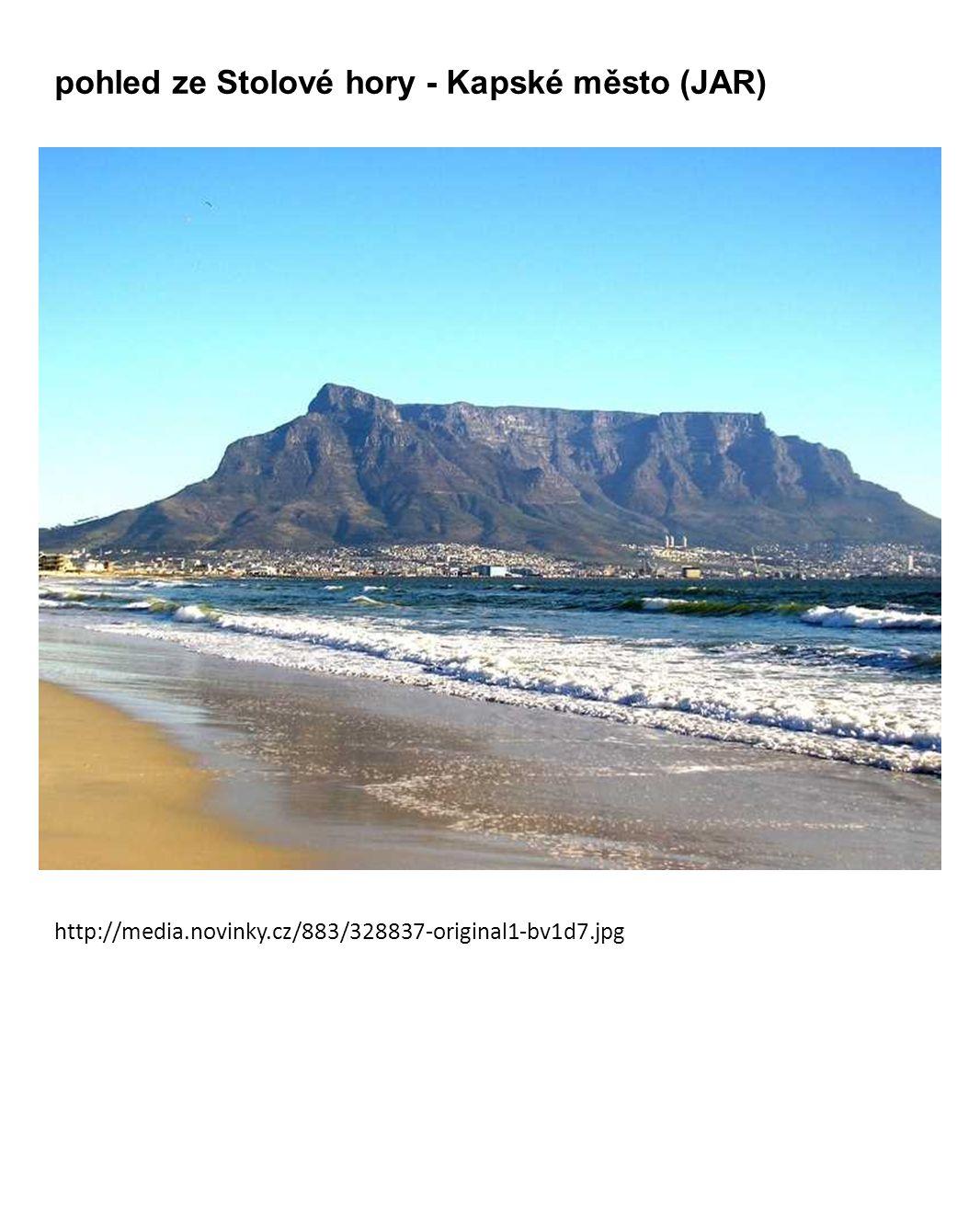 pohled ze Stolové hory - Kapské město (JAR) http://media.novinky.cz/883/328837-original1-bv1d7.jpg