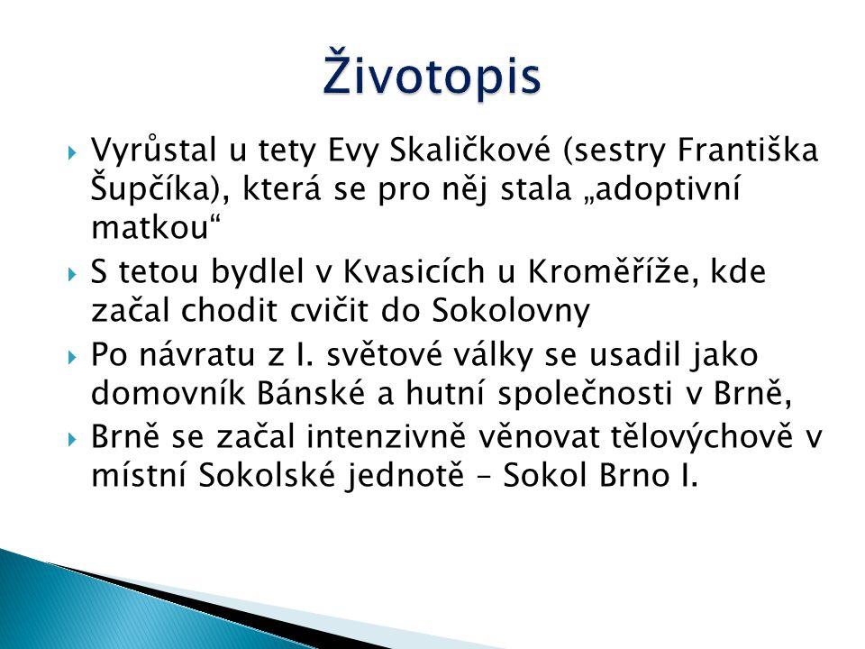  byl český sportovní gymnasta a první československý olympijský vítěz.  Narodil se 22.října 1898 v Trumau u Vídně v Rakousku  Narodil se v početné