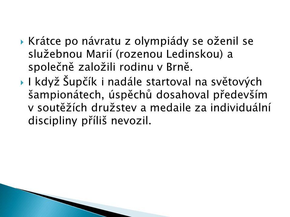  Na poslední chvíli se dostal do nominace pro VIII. olympijské hry v Paříži v roce 1924.  Zde v samotném závěru olympiády získal jako první Čech a Č