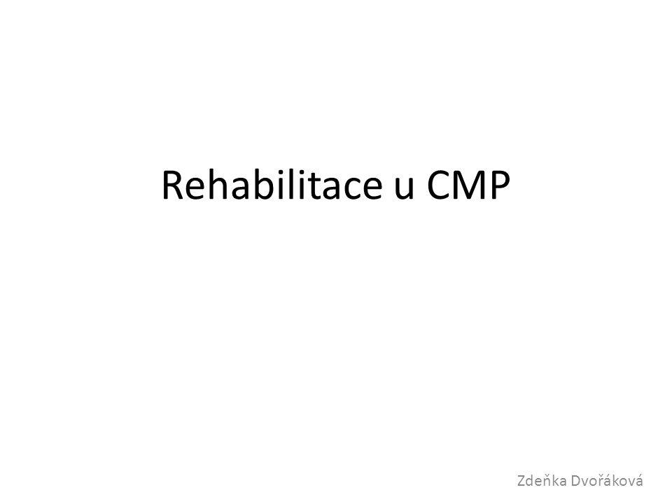 Rehabilitace u CMP Zdeňka Dvořáková