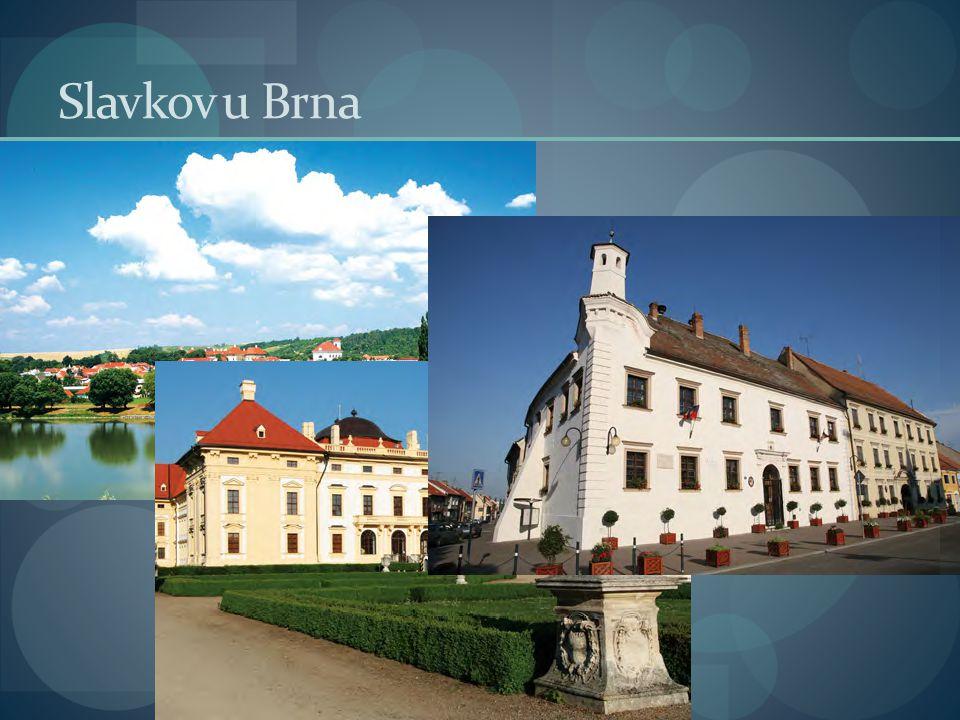  Historicky významné město Slavkov u Brna leží v Jihomoravském kraji, přibližně 20 km východně od Brna, na pravém břehu malebné řeky Litavy.