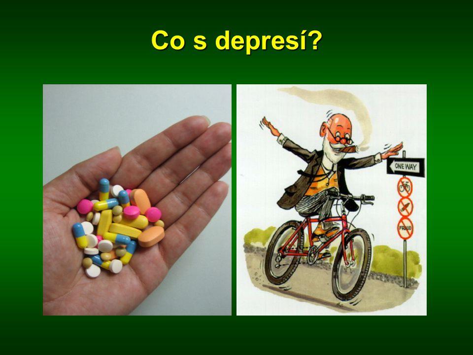 Co s depresí?