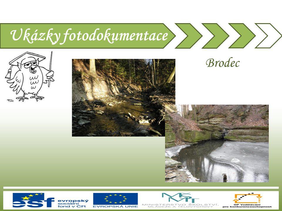 Ukázky fotodokumentace Brodec