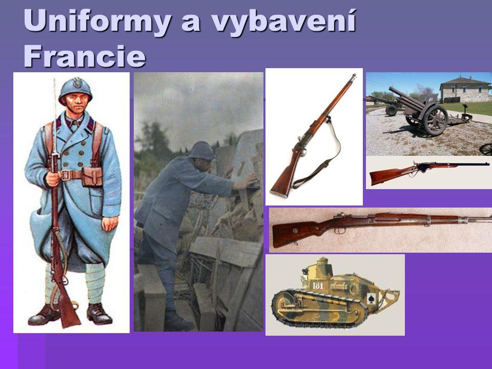 Uniformy a vybavení Německa