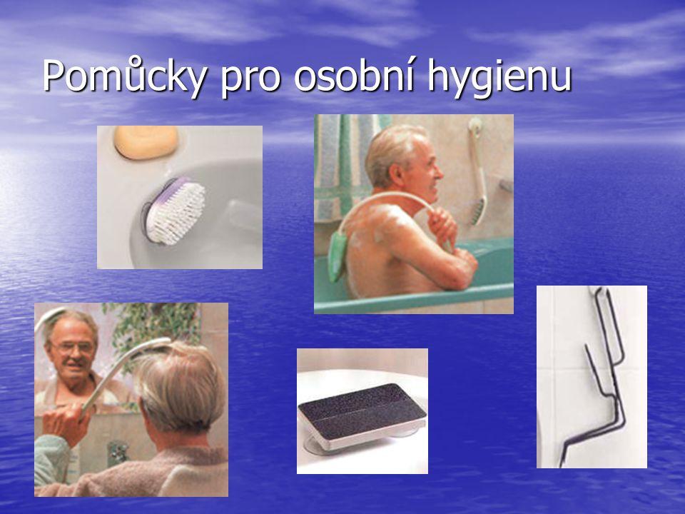 Pomůcky pro osobní hygienu