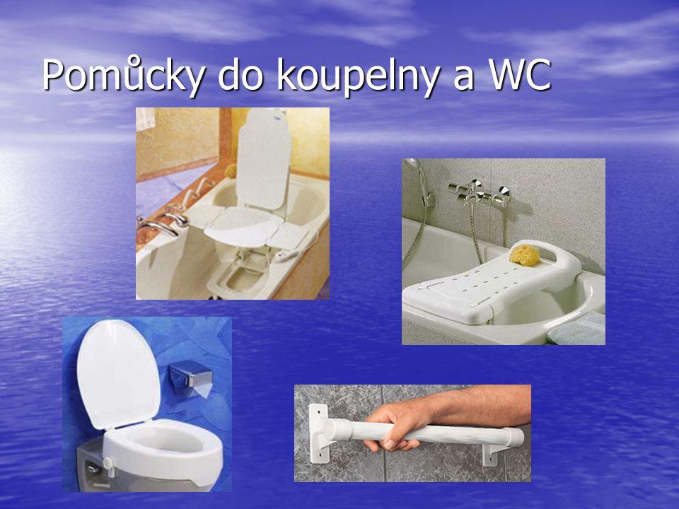 Pomůcky do koupelny a WC