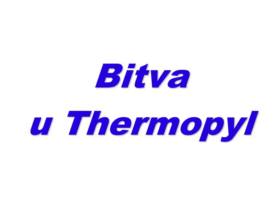 Bitva u Thermopyl