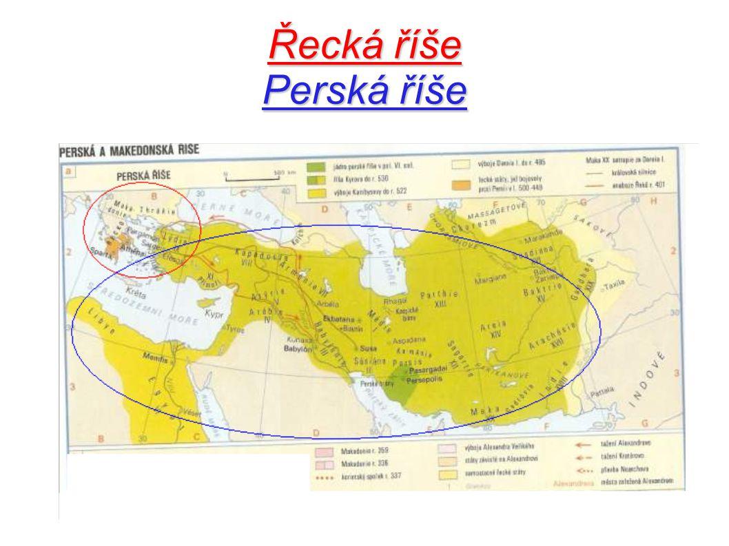 Perská říše Národnostním složením byla tato říše velmi pestrá, vládnoucím národem byli Peršané.