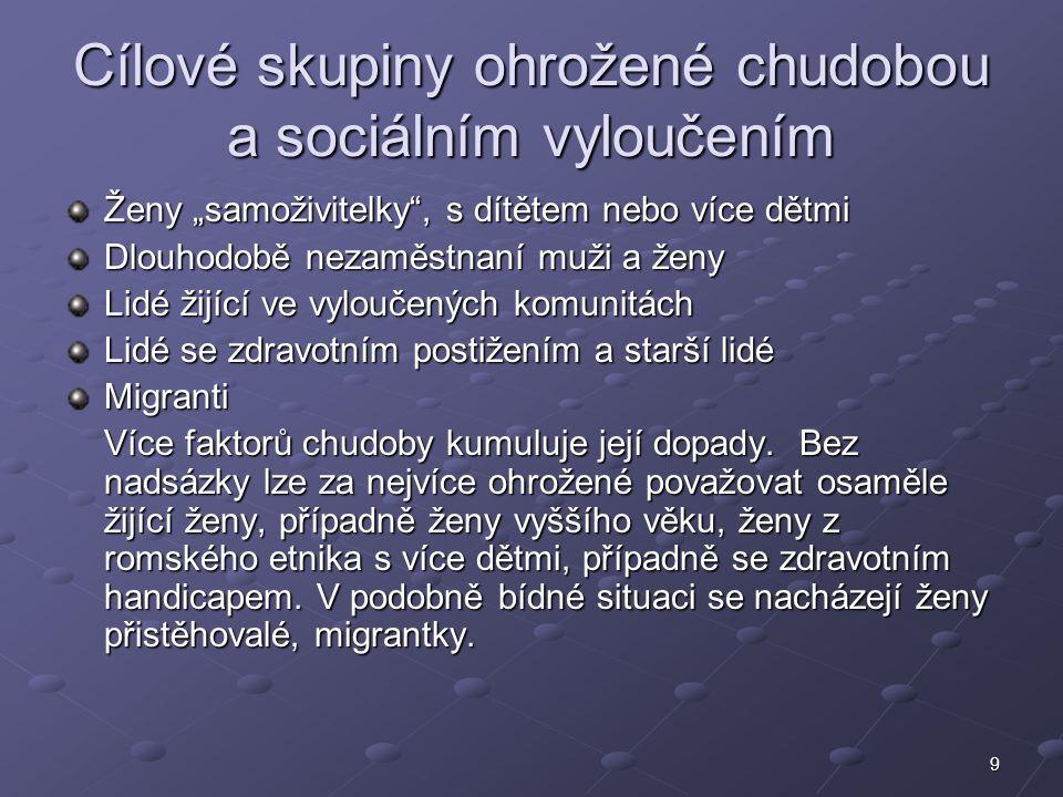 10 Kombinace zaměstnání a mateřství Nově: Slaďování pracovního a rodinného života Kombinace zaměstnání a mateřství české ženy výrazně znevýhodňuje.