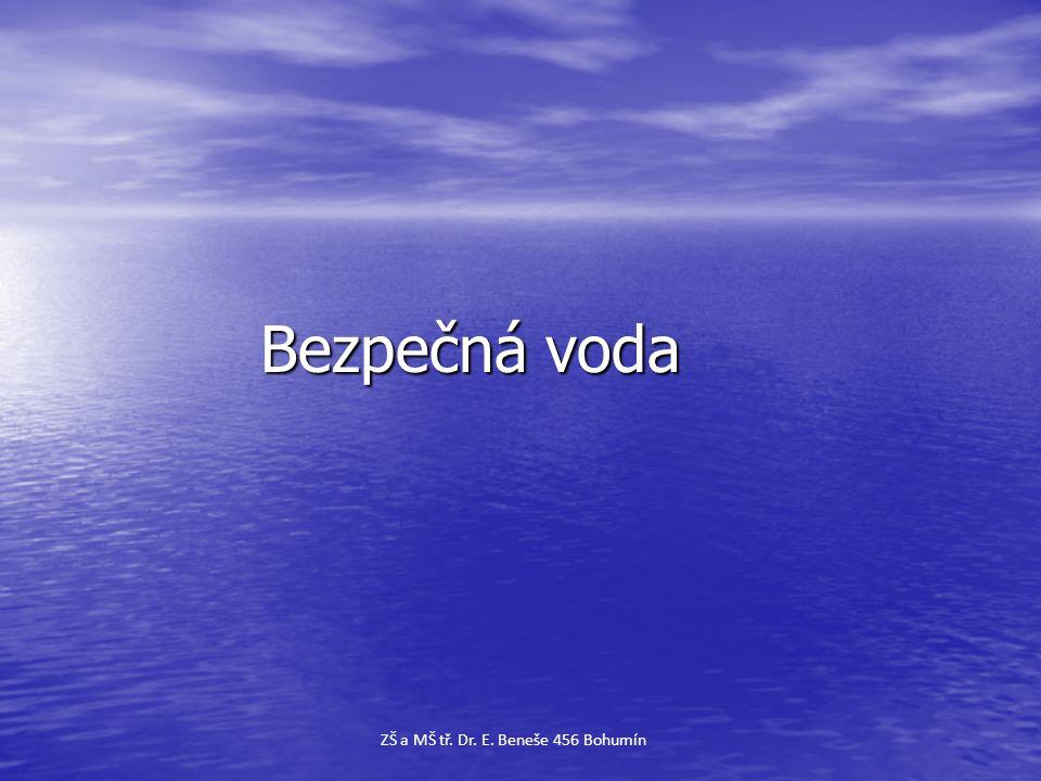 Bezpečná voda ZŠ a MŠ tř. Dr. E. Beneše 456 Bohumín